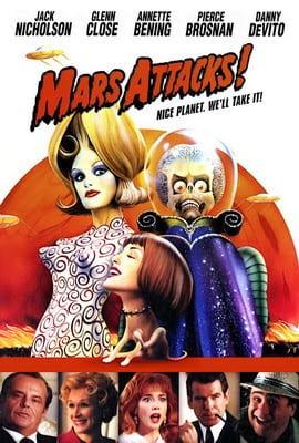 Mars Attacks! (1996) สงครามวันเกาโลก