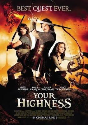 Your Highness (2011) ศึกเทพนิยายเจ้าชายพันธุ์เพี้ยน