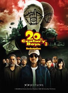 20th Century Boys 3: Redemption (2009) มหาวิบัติดวงตาถล่มล้างโลก ภาค 3