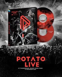 บันทึกการแสดงสด POTATO LIVE (2016) Chang Music Connection Presents POTATO LIVE