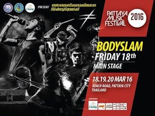 Bodyslam (2016) Live Pattaya Music Festival